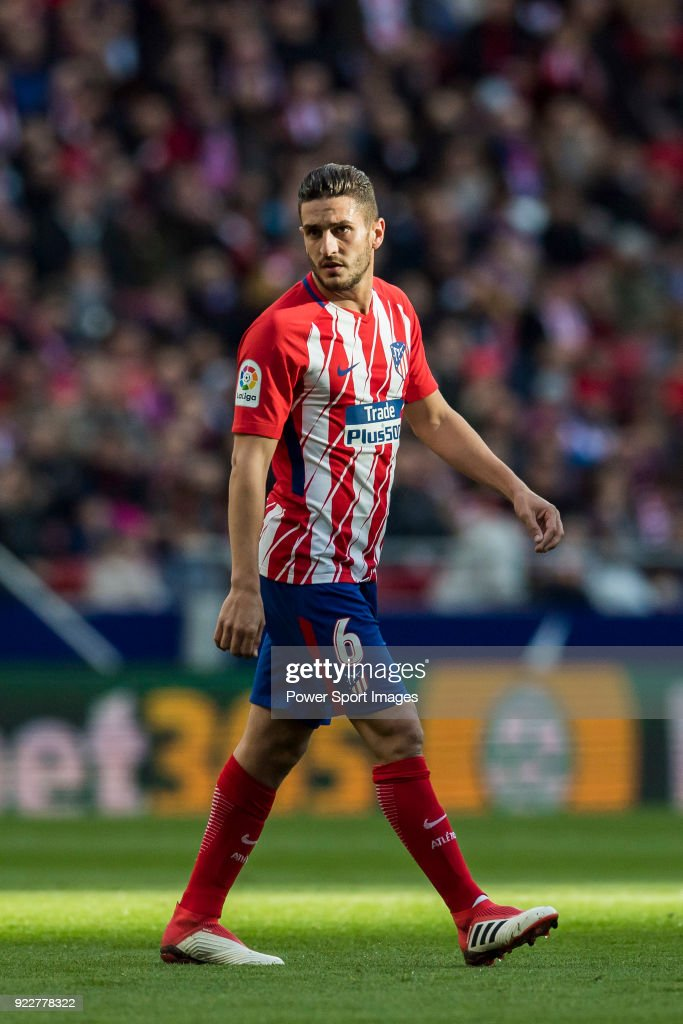 Jorge Resurreccion Merodio, Koke, of Atletico de Madrid looks on during the La Liga 2017-18 match between Atletico de Madrid and UD Las Palmas at Wanda Metropolitano on January 28 2018 in Madrid, Spain.