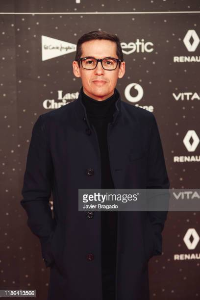 Jorge Ruiz Flores attends 'Los40 music awards 2019' photocall at Wizink Center on November 08 2019 in Madrid Spain