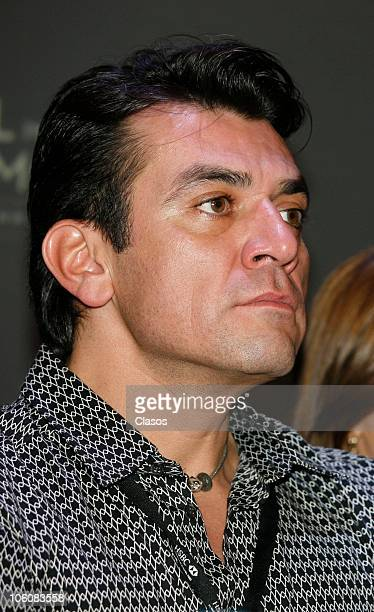 Jorge Salinas of the movie La Otra Familia, during a press conference as part of the 8th Morelia International Film Festival on October 23, 2010 in...