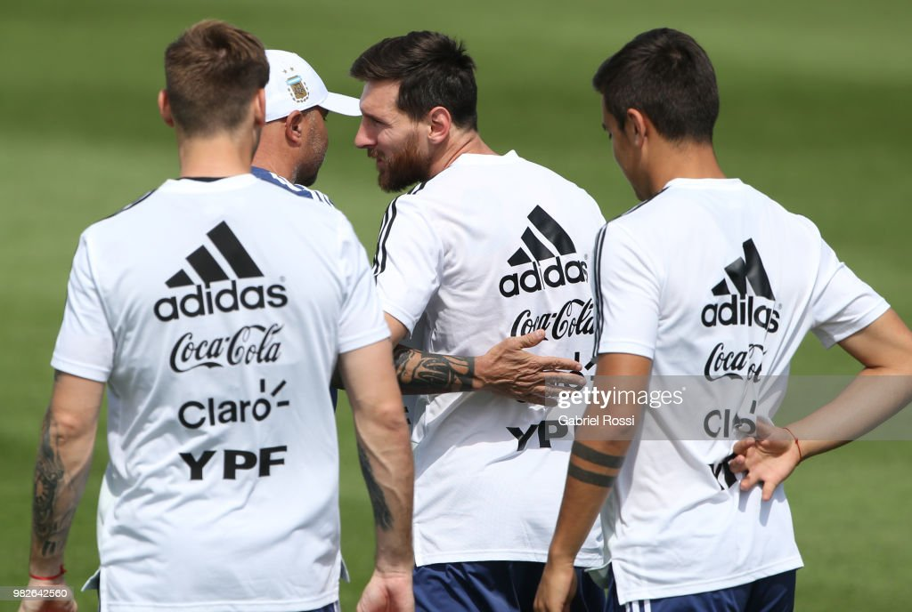 Argentina Training Session & Press Conference - FIFA World Cup Russia 2018