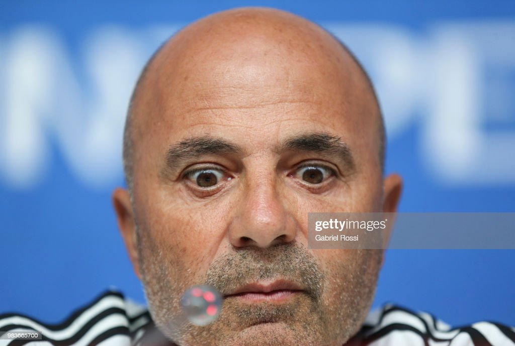 Argentina Official Press Conference - FIFA World Cup Russia 2018