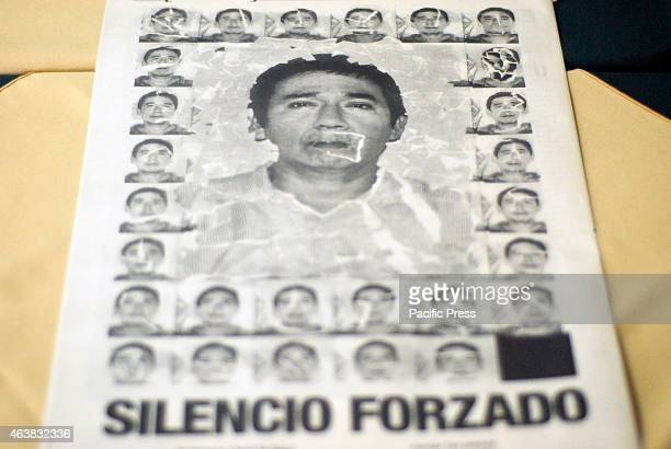 Jorge Sanchez son of slain journalist Moises Sanchez director of the newspaper La Union presented a special edition on this fact that mourned the...