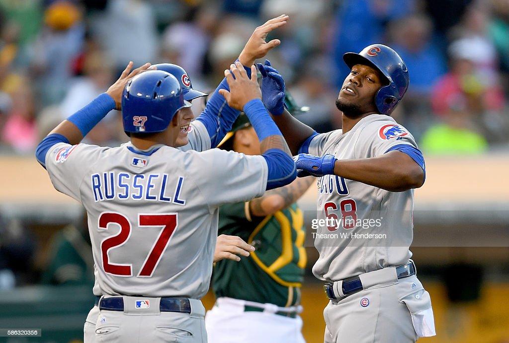 Chicago Cubs v Oakland Athletics : News Photo