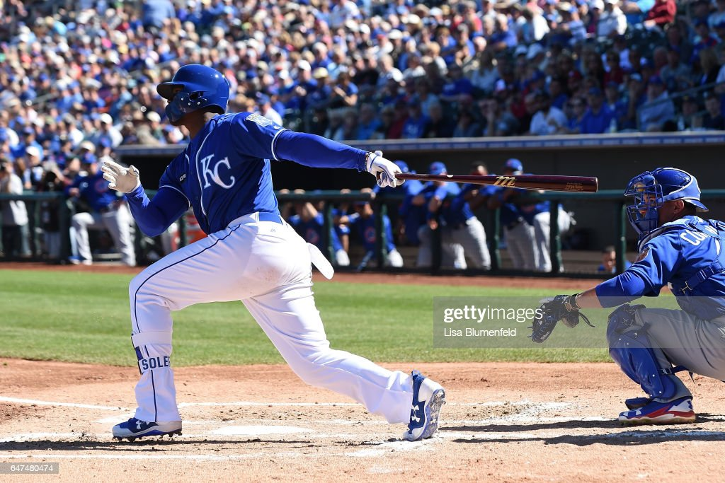 Chicago Cubs v Kansas City Royals : News Photo