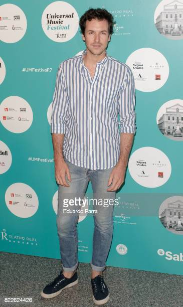 Jorge Suquet attends the 'Zucchero' photocall at Royal Theatre on July 25, 2017 in Madrid, Spain.