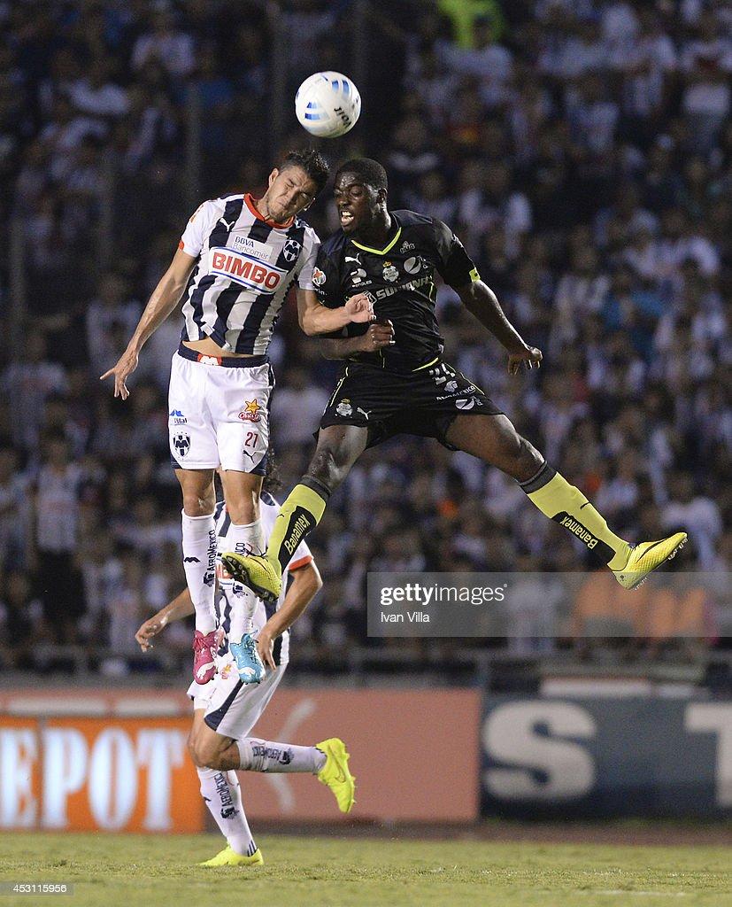 Monterrey v Santos - Apertura 2014 Liga MX