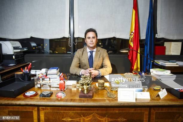 Jorge Toledo Spain's deputy minister for European Affairs poses for a photograph following an interview at his office in Madrid Spain on Thursday Nov...