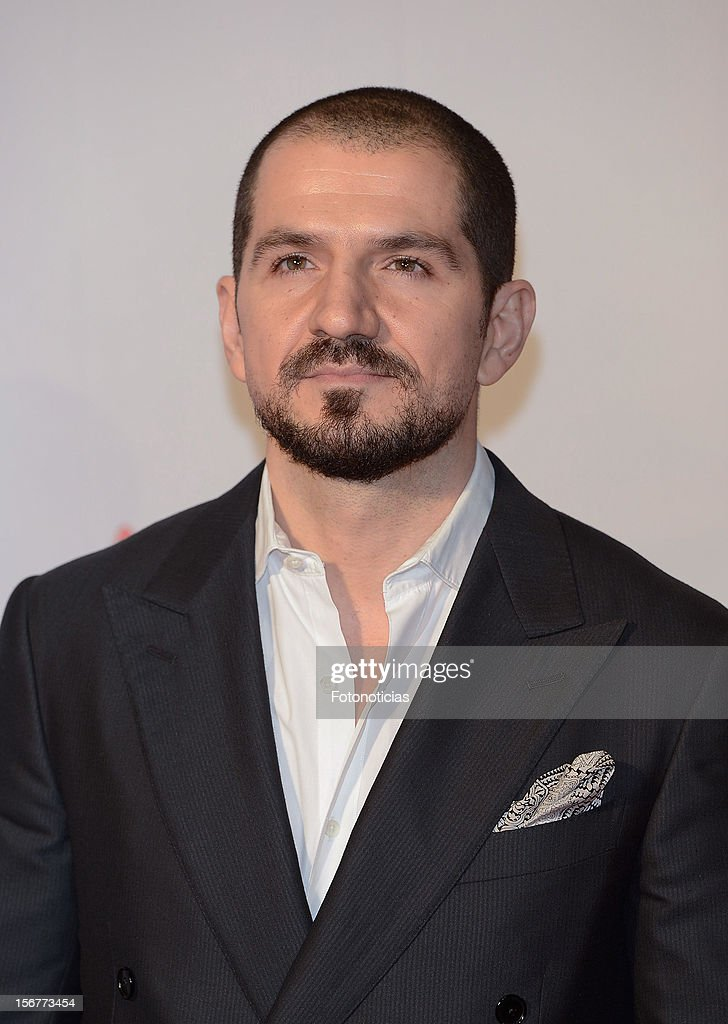 Jorge Torregrossa attends the premiere of 'Fin' at Callao Cinema on November 20, 2012 in Madrid, Spain.