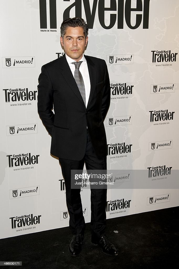 Jorge Vazquez attends the Conde Nast Traveler Awards 2014 at the Jardines de Cecilio Rodriguez on April 24, 2014 in Madrid, Spain.