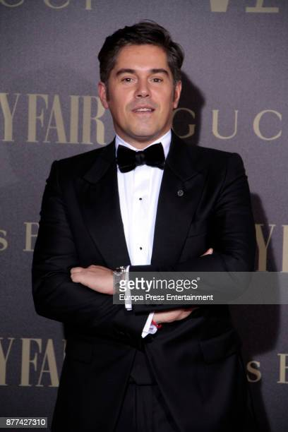 Jorge Vazquez attends the gala 'Vanity Fair Personality of the Year' to Garbine Muguruza at Ritz Hotel on November 21 2017 in Madrid Spain