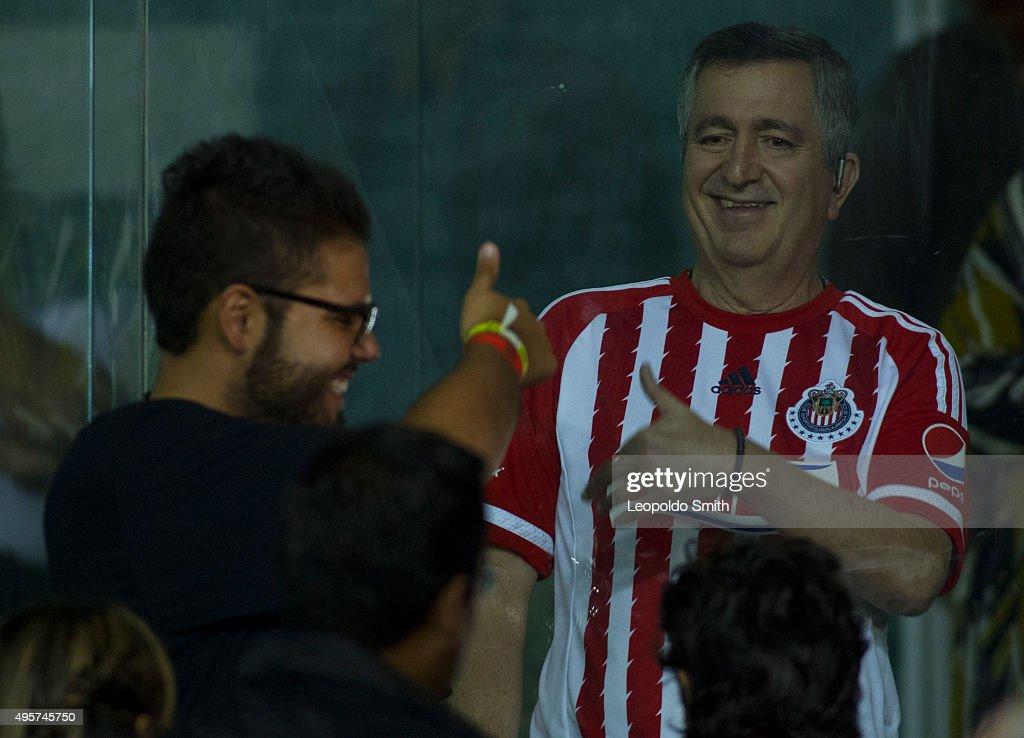 Leon v Chivas - Copa Corona MX Apertura 2015 : Fotografía de noticias