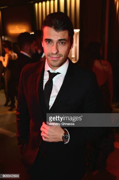 Jorge Viladoms attends JaegerLeCoultre Polaris Gala Evening at the SIHH 2018 at Pavillon Sicli on January 15 2018 in Les Acacias Switzerland