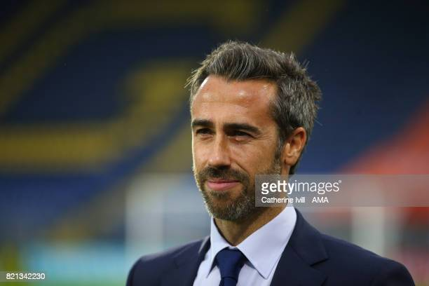 Jorge Vilda manager / head coach of Spain Women during the UEFA Women's Euro 2017 match between England and Spain at Rat Verlegh Stadion on July 23...