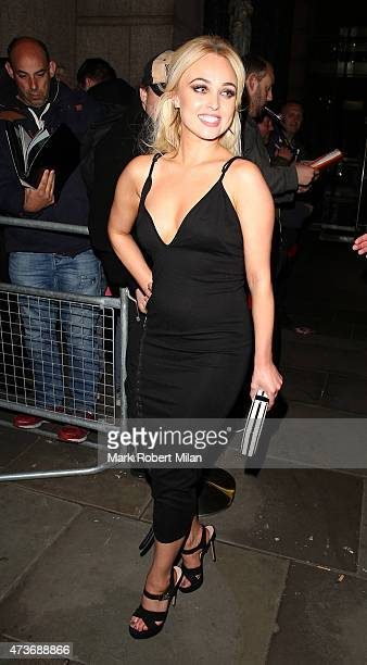 Jorgie Porter attending the British Soap Awards at the Palace Theatre on May 16 2015 in Manchester England