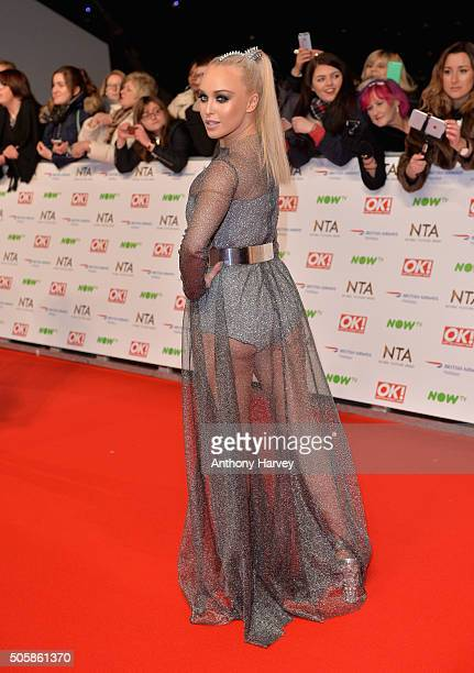 Jorgie Porter attends the 21st National Television Awards at The O2 Arena on January 20 2016 in London England
