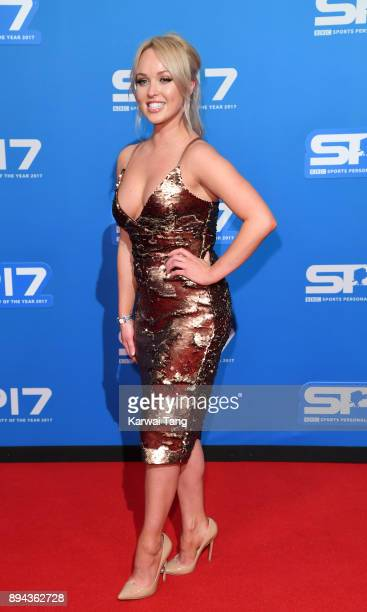 Jorgie Porter attends the BBC Sports Personality of the Year 2017 Awards at the Echo Arena on December 17 2017 in Liverpool England