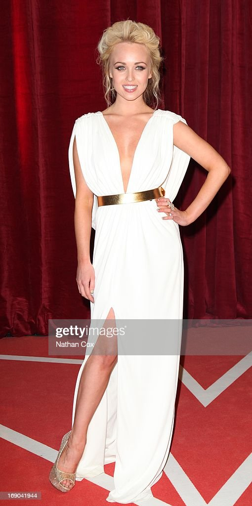 Jorgie Porter attends The British Soap Awards 2013 at Media City on May 18, 2013 in Manchester, England.