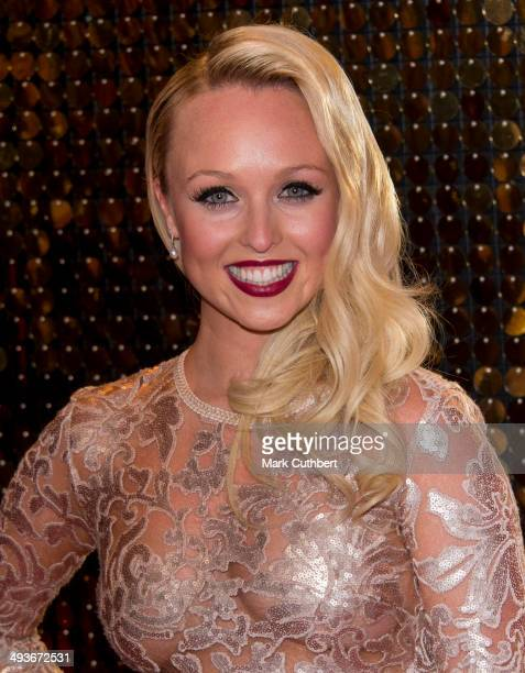 Jorgie Porter attends the British Soap Awards at Hackney Empire on May 24 2014 in London England