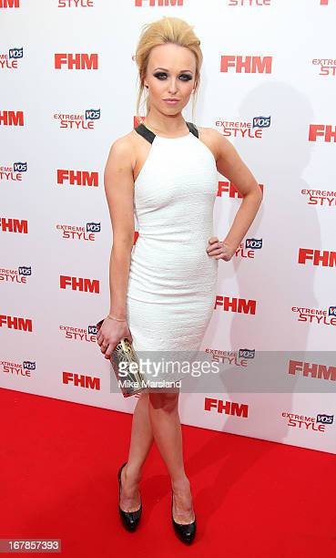 Jorgie Porter attends the FHM 100 Sexiest Women In The World 2013 party at Sanderson Hotel on May 1 2013 in London England