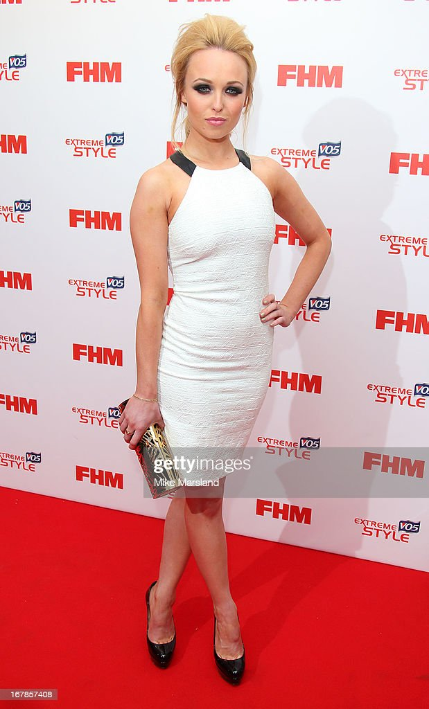 Jorgie Porter attends the FHM 100 Sexiest Women In The World 2013 party at Sanderson Hotel on May 1, 2013 in London, England.