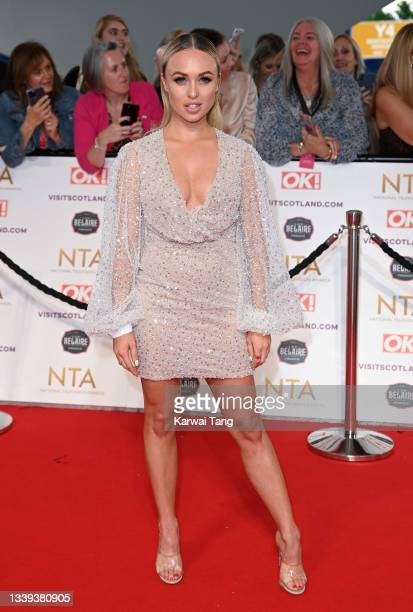 Jorgie Porter attends the National Television Awards 2021 at The O2 Arena on September 09, 2021 in London, England.