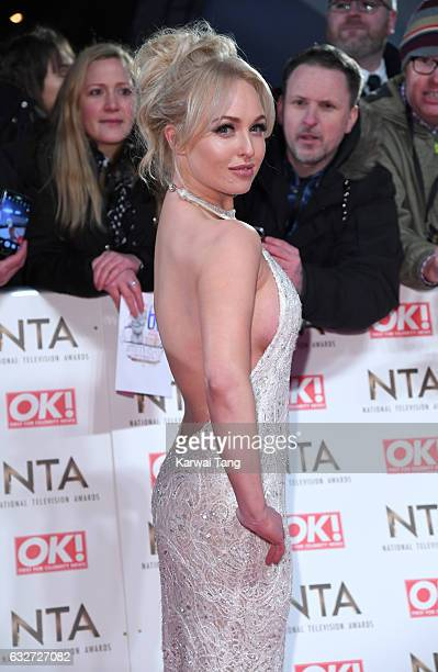Jorgie Porter attends the National Television Awards at The O2 Arena on January 25 2017 in London England
