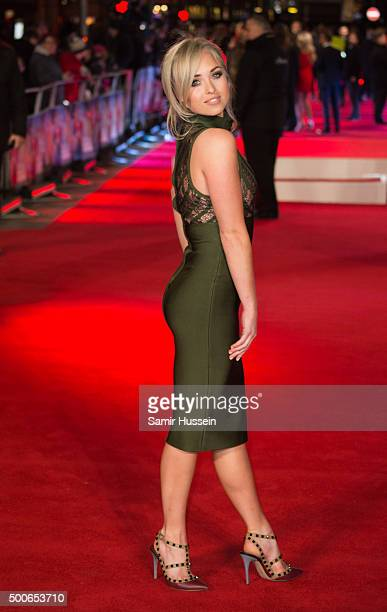 Jorgie Porter attends the UK Film Premiere of 'Daddy's Home'at Vue West End on December 9 2015 in London England