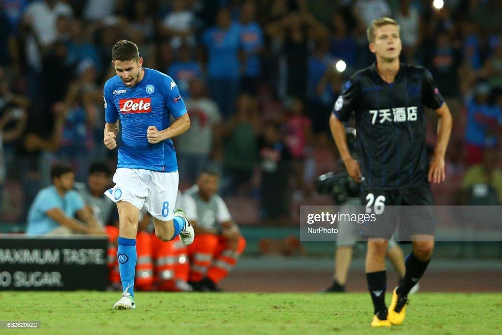 SSC Napoli v OGC Nice - UEFA Champions League Qualifying Play-Offs Round: First Leg : News Photo