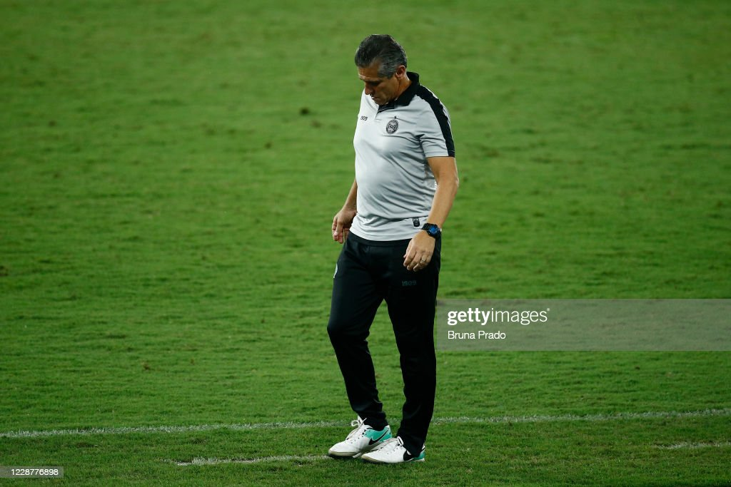 2020 Brasileirao Series A:  Fluminense v Coritiba Play Behind Closed Doors Amidst the Coronavirus (COVID - 19) Pandemic : ニュース写真