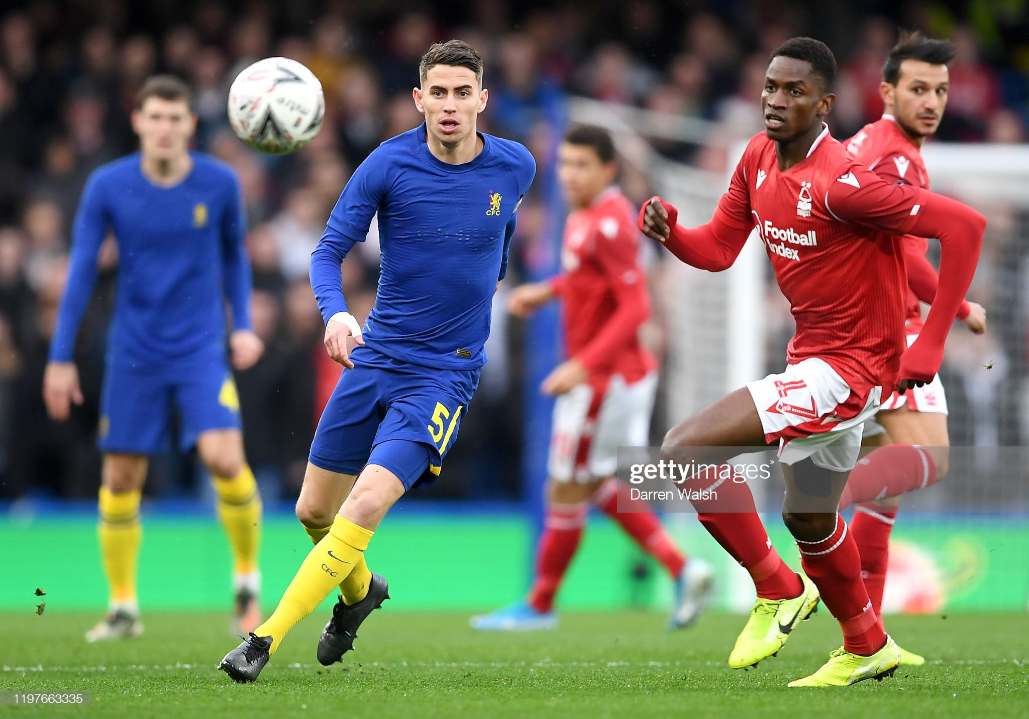Chelsea FC v Nottingham Forrest - FA Cup Third Round : News Photo