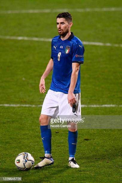 Jorginho of Italy in action during the UEFA Nations League football match between Italy and Poland. Italy won 2-0 over Poland.