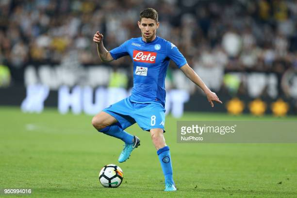 Jorginho of Napoli at Allianz Stadium in Turin Italy on February 22 during Juventus v SSC Napoli