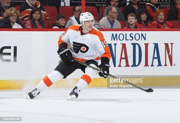 Jori Lehtera of the Philadelphia Flyers skates against the Ottawa Senators at Canadian Tire Centre on October 10 2018 in Ottawa Ontario Canada