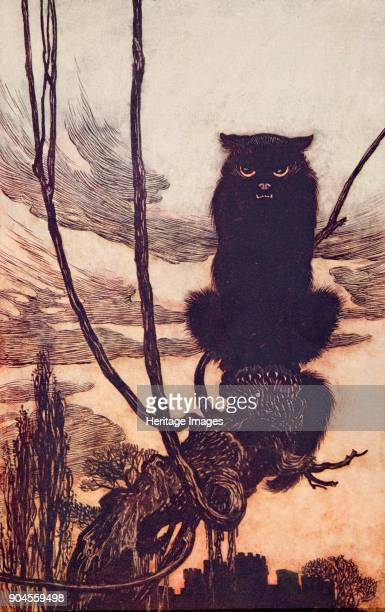 Jorinda and Joringel 1909 By day she made herself into a cat Jorinda and Joringel from The Fairy Tales of the Brothers Grimm pub 1909