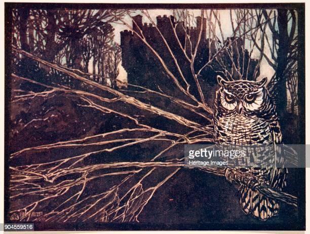 Jorinda and Joringel 1909 or a screech owl Jorinda and Joringel from The Fairy Tales of the Brothers Grimm pub 1909