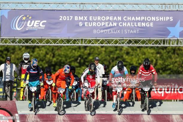 Joris Daudet of France and Twan Van Gendt of Netherlands and Renaud Blanc of Switzerland and Evgeny Komarov of Russia and Jimmi Therkelsen of Denmark...