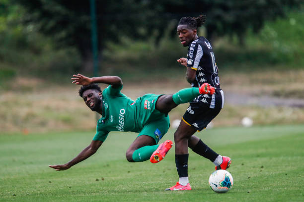 FRA: AS Saint Etienne v Charleroi - Friendly match