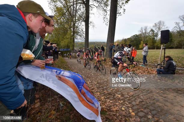 Joris Nieuwenhuis of The Netherlands and Development Team Sunweb / Fans / Public / during the 29th Koppenbergcross 2018 / DVV Verzekeringen Trofee /...