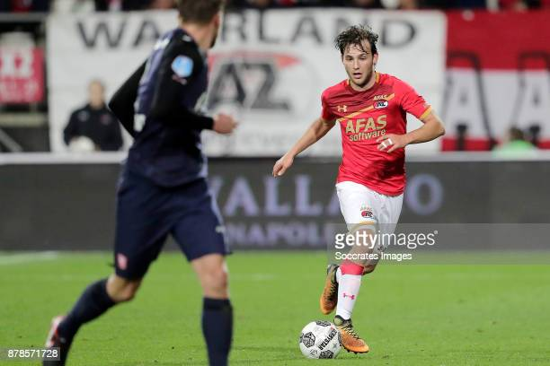 Joris van Overeem of AZ Alkmaar during the Dutch Eredivisie match between AZ Alkmaar v Fc Twente at the AFAS Stadium on November 24 2017 in Alkmaar...