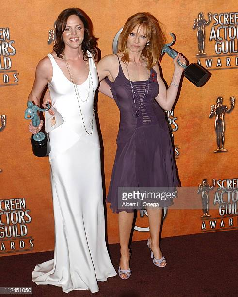 Jorja Fox and Marg Helgenberger winners for Outstanding Ensemble in a Drama Series for CSI Crime Scene Investigation