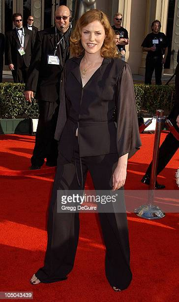 Jorja Fox during 9th Annual Screen Actors Guild Awards Arrivals at Shrine Exposition Center in Los Angeles California United States