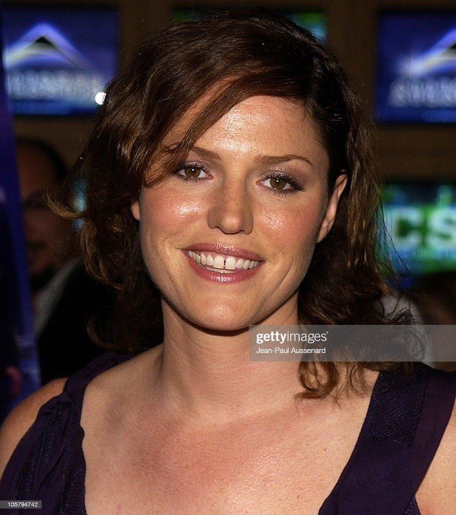 Jorja Fox during 'CSI: Crime Scene Investigation' Fourth Season Premiere Screening at Museum of Television and Radio in Beverly Hills, California, United States.