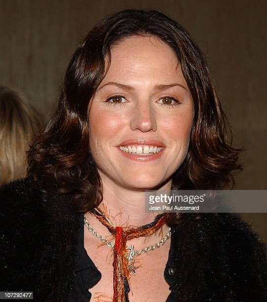 Jorja Fox during The 18th Annual Genesis Awards and 50th Anniversary of the Humane Society of the United States Arrivals at Beverly Hilton in Beverly...