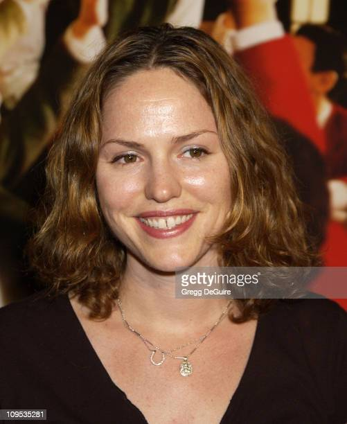 Jorja Fox during The Emperor's Club Premiere Los Angeles at Academy Theatre in Beverly Hills California United States
