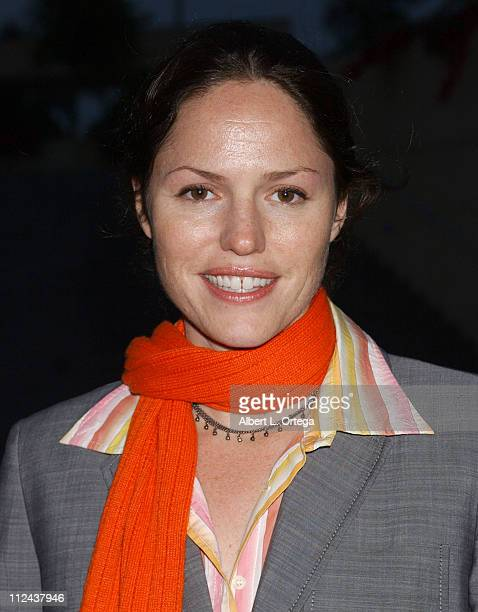Jorja Fox during Voices of Our Children Benefit for Penny Lane Honoring Alan Rosenberg and Marg Helgenberger at Cathedral Center Los Angeles in Los...