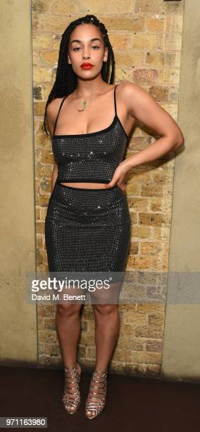 Jorja Smith attends a listening party for Jorja Smith's new album Lost Found at Omeara on June 10 2018 in London England
