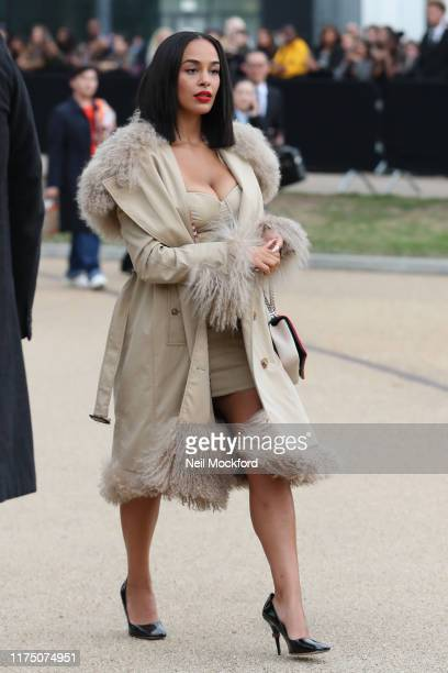 Jorja Smith attends Burberry at Troubadour White City Theatre during LFW September 2019 on September 16 2019 in London England
