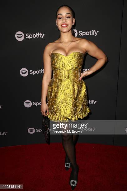 Jorja Smith attends Spotify's Best New Artist Party at the Hammer Museum on February 07 2019 in Los Angeles California