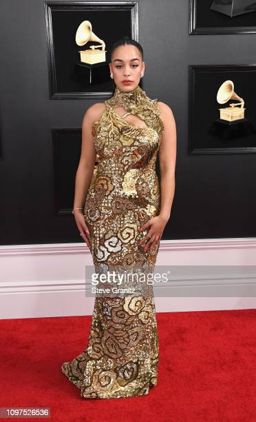 Jorja Smith attends the 61st Annual GRAMMY Awards at Staples Center on February 10 2019 in Los Angeles California