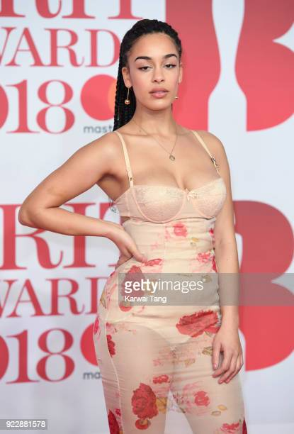 AWARDS 2018 *** Jorja Smith attends The BRIT Awards 2018 held at The O2 Arena on February 21 2018 in London England